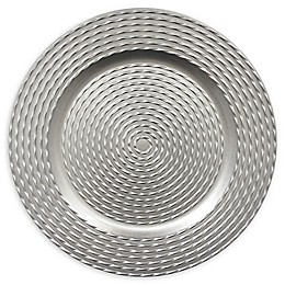 ChargeIt by Jay Charger Plates in Silver (Set of 4)