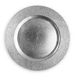ChargeIt by Jay Sand Melamine Charger Plates in Silver (Set of 4)