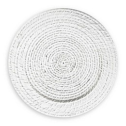 ChargeIt by Jay Rattan Charger Plates in White (Set of 4)