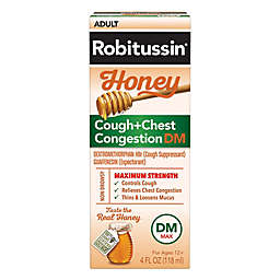 Robitussin® 4 oz. Adult Maximum Strength Cough + Chest Congestion DM in Honey