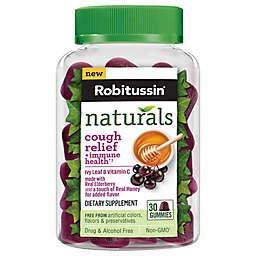 Robitussin® 30-Count Ivy Leaf + Vitamin C Cough Relief + Immune Health Gummies