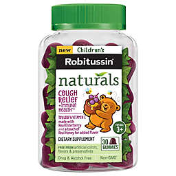 Children's Robitussin® Naturals 30-Count Cough Relief and Immune Health Gummies
