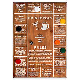 Polished Wood Drinkopoly Game