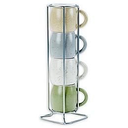 Boston Warehouse Demi 5-Piece Espresso Mug Set