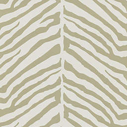 Echo Design™ Zebra Stripes Wallpaper Sample in Taupe