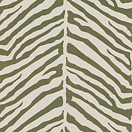 Echo Design™ Zebra Stripes Wallpaper Sample in Light Brown
