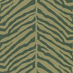 Echo Design™ Zebra Stripes Wallpaper Sample in Brown