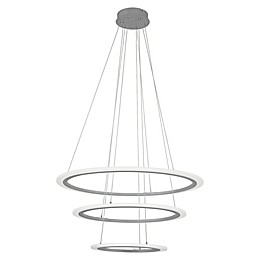 George Kovacs® Discovery 1-Light LED Pendant in Silver