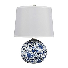 One Kings Lane Open House™ Winnie Table Lamp in Blue/White