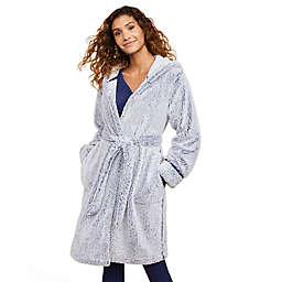 Motherhood Maternity® Hooded Cozy Sleep Maternity Robe in Blue