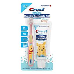 Crest® Training Baby Fluoride Free Toothpaste Kit in  Mild Strawberry Gel