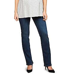 Motherhood Maternity® Indigo Blue Secret Fit Belly Stretch Straight Leg Maternity Jeans