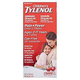 Tylenol® Children's 8 oz. Cherry Dye-Free Pain Reliever