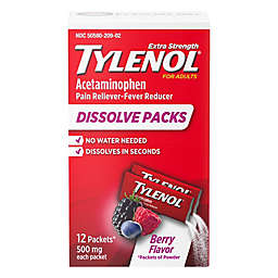 Tylenol® 12-Count Extra Strength Powder Pack in Berry