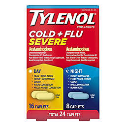 Tylenol® 24-Count Cold and Flu Day/Night Caplets