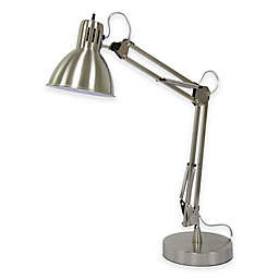 Marmalade™ Architect Adjustable Desk Lamp with USB Port in Brushed Steel