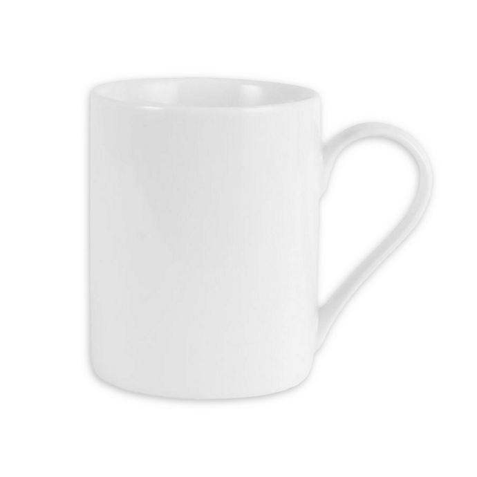 Alternate image 1 for Everyday White® by Fitz and Floyd® 12 oz. Can Mugs (Set of 4)