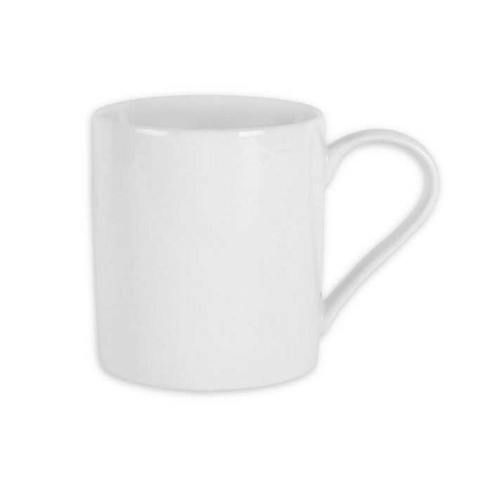 Alternate image 1 for Everyday White® by Fitz and Floyd® 18 oz. Can Mugs (Set of 4)