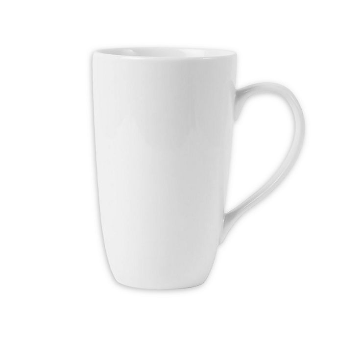 Alternate image 1 for Everyday White® by Fitz and Floyd® Classic Latte Mugs (Set of 4)