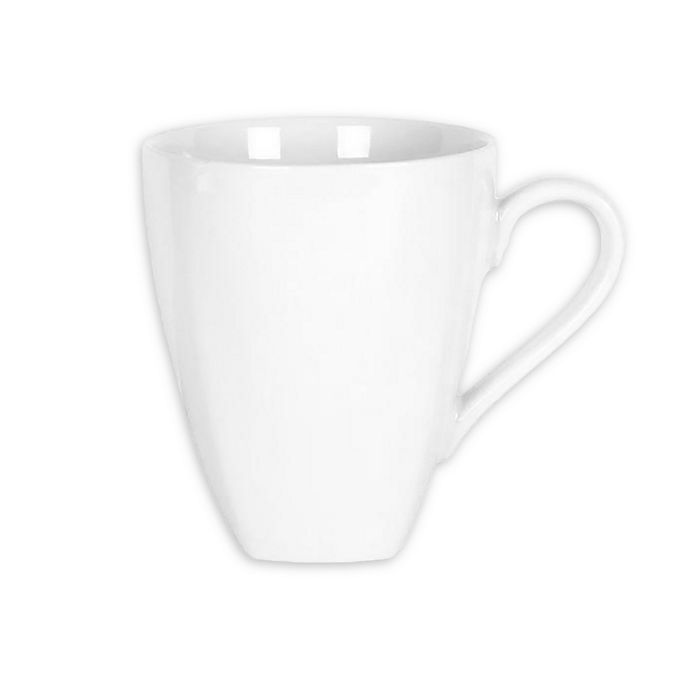 Alternate image 1 for Everyday White® by Fitz and Floyd® Square Base Mugs (Set of 6)