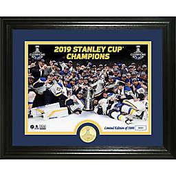 NHL St. Louis Blues 2019 Stanley Cup Champions Celebration Frame