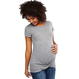 Motherhood Maternity® Twist Front Maternity Shirt