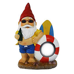 Destination Summer Solar Beach Gnome