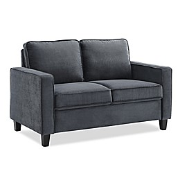 Lifestyle Solutions Gilmore Loveseat in Grey