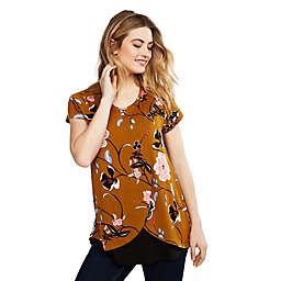 Motherhood Maternity® Pull Over Tulip Hem Nursing Shirt