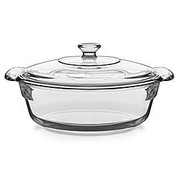 Libbey® Glass Baker's Premium 2 qt. Covered Casserole Dish