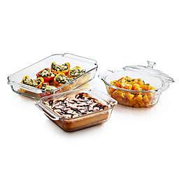 Libbey® Glass Baker's Premium 4-Piece Baking Dish Set