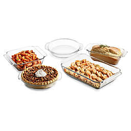 Libbey® Glass Baker's Premium 5-Piece Baking Dish Set