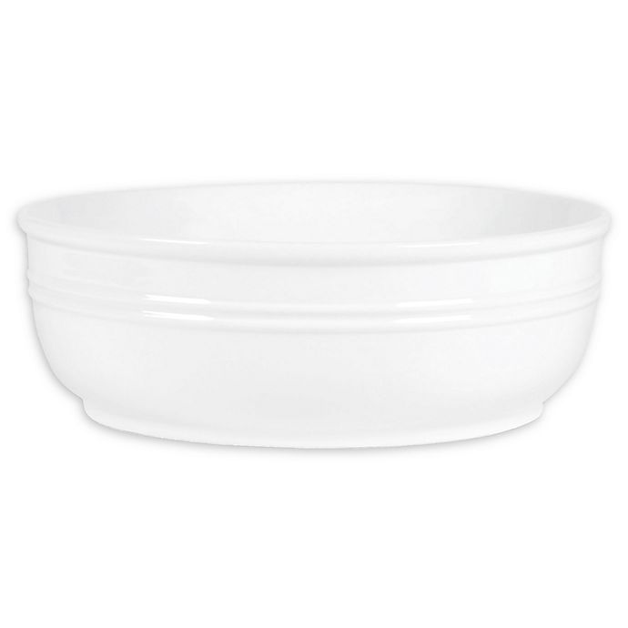 Alternate image 1 for Everyday White® by Fitz and Floyd® Bistro Banded Serving Bowl
