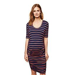 Motherhood Maternity® Side-Ruched Maternity Dress