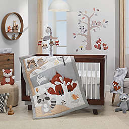 Lambs & Ivy® Into the Woods 4-Piece Crib Bedding Set in Beige/Grey