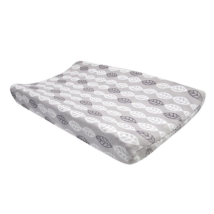 Alternate image 1 for Lambs & Ivy® Into the Woods Changing Pad Cover in Grey/White