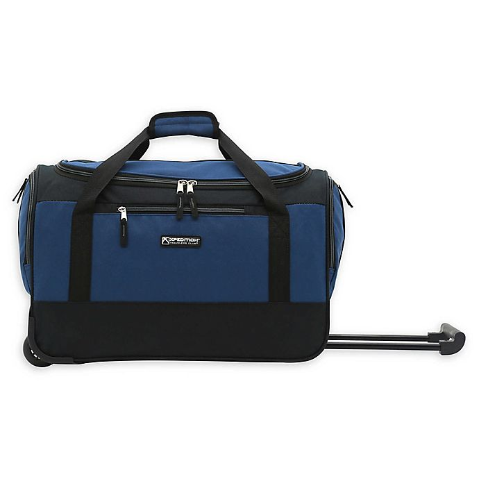 Alternate image 1 for Traveler's Club® XPedition 20-Inch  Rolling Duffle Bag