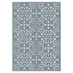 Orian Lansing Rug in Harbor Blue