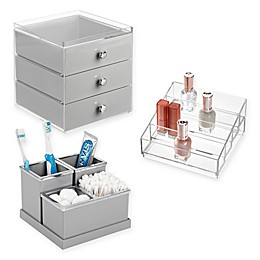 iDesign® Luci Vanity Organizer Collection
