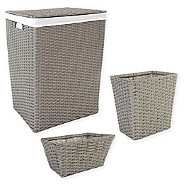 ORG Poly-Rattan Hamper and Basket Collection