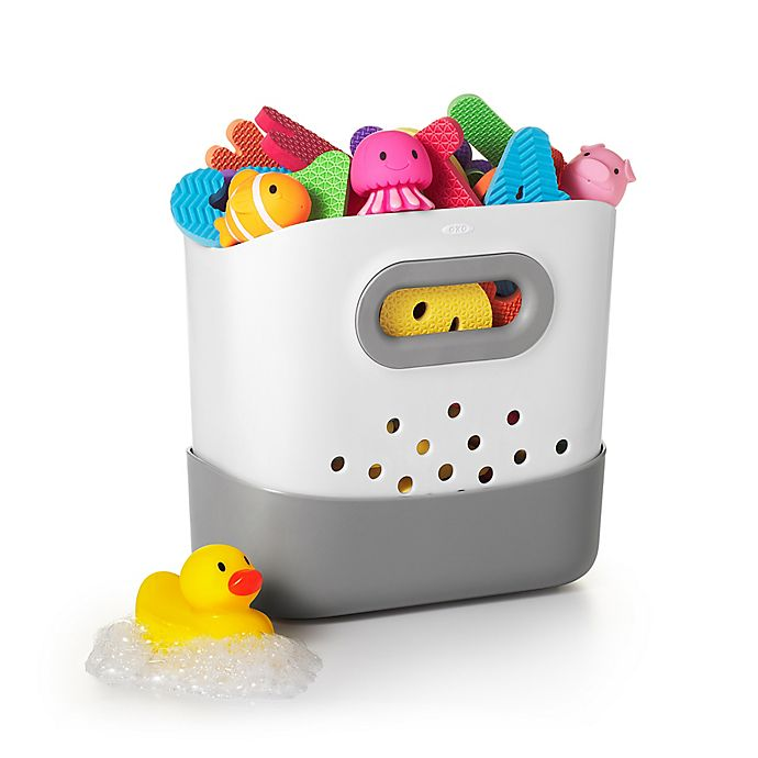Alternate image 1 for OXO Tot® Stand Up Bath Toy Bin