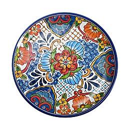 Medallion Melamine Salad Plate in White