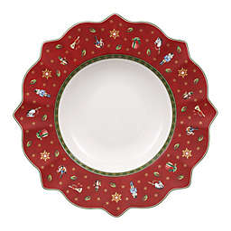 Villeroy & Boch Toy's Delight Rimmed Soup Bowl in Red