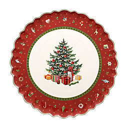 Villeroy & Boch Toy's Delight Cake Plate in Red