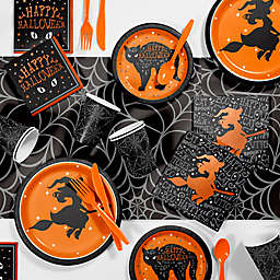 Creative Converting 81-Piece Wicked Witch Halloween Party Supplies Kit