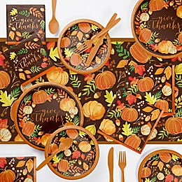 Creative Converting™ Give Thanks 73-Piece Party Supply Kit