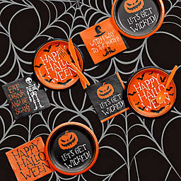 Creative Converting 193-Piece Halloween Cocktail Party Kit