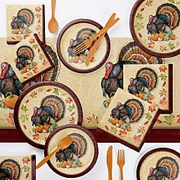 Creative Converting™ Harvest Turkey 146-Piece Party Supply Set