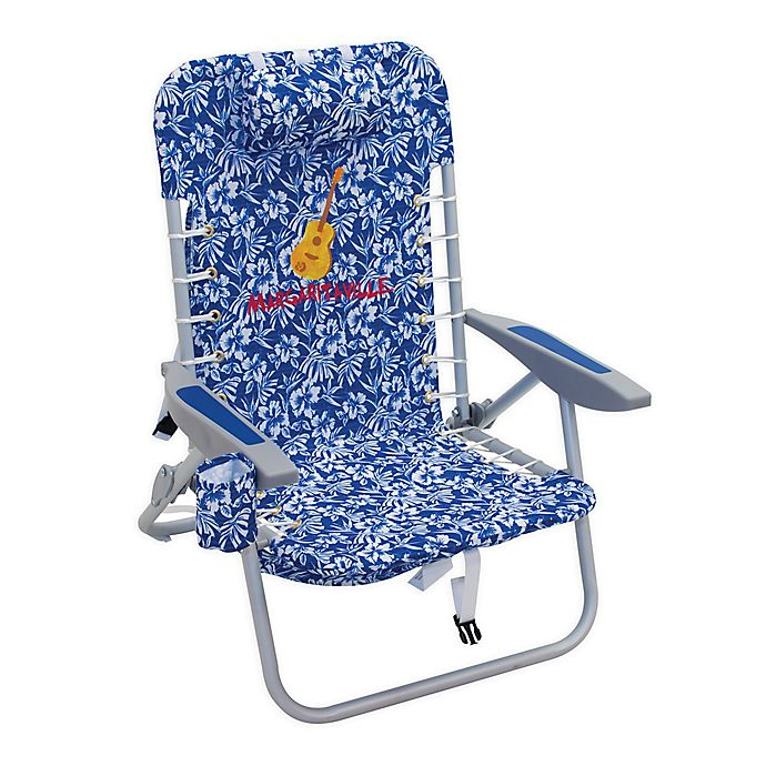 Pleasant Margaritaville 4 Position Backpack Beach Chair Bed Bath Home Interior And Landscaping Ferensignezvosmurscom