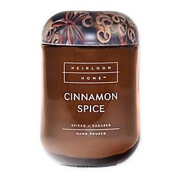 Heirloom Home Cinnamon Spice 24 oz. Jar Candle with Metal Lid